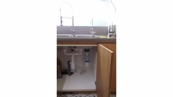 lắp đặt thực tế máy lọc nước 3M FF100