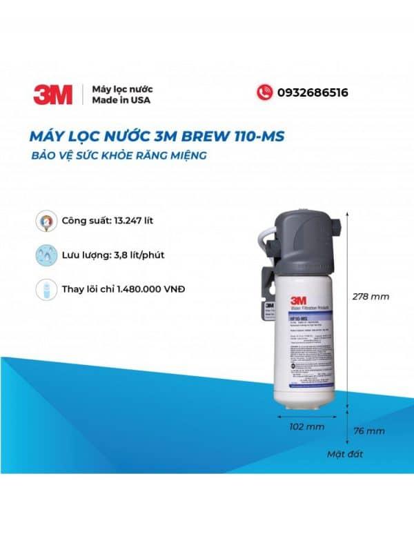 giới thiệu 3M Brew110ms