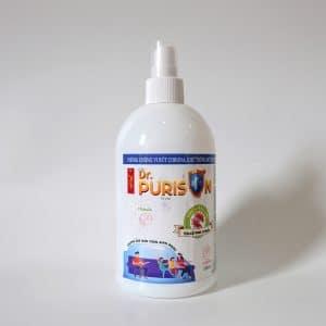 Chai xịt nước Khử khuẩn Dr Purison 500ml-New