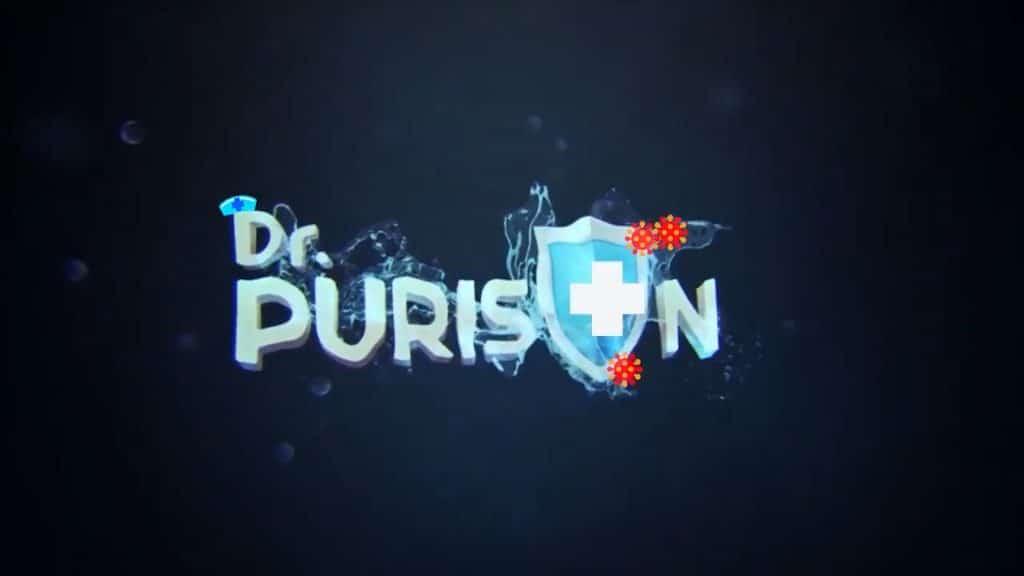 Nước khử Khuẩn Dr Purison